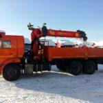 КАМАЗ 65115 с КМУ Palfinger